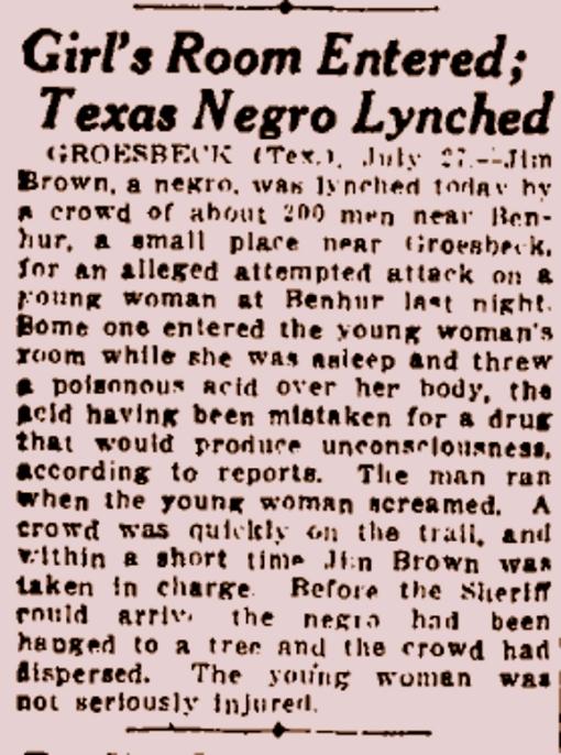 lynching acid